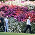 Tiger Woods Phil Mickelson THomas Pieters Masters Augusta