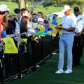 Tiger Woods MAsters Augusta autographs