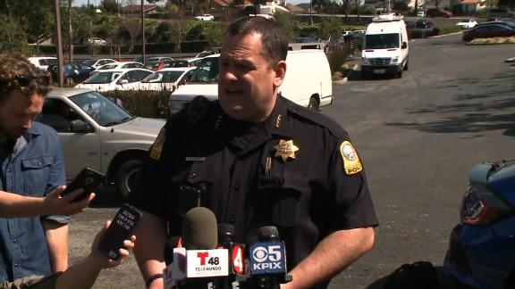 YOUTUBE HQ SHOOTING/POLICE GIVE TIMELINE OF SHOOTING - Police are on the scene of an active shooter incident at the YouTube headquarters in San Bruno, California.