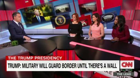 Lead Panel Trump mexico troops live _00000816