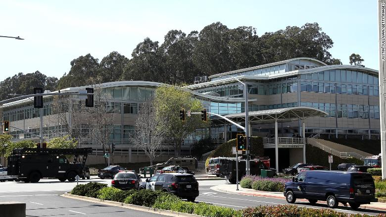 'Panic' at YouTube headquarters shooting