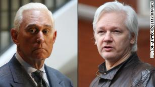 Stone, on day he sent Assange dinner email, also said 'devastating' WikiLeaks were forthcoming