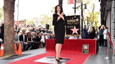 HOLLYWOOD, CA - APRIL 03:  Lynda Carter attends a ceremony honoring her  with the 2,632nd star on the Hollywood Walk of Fame on April 3, 2018 in Hollywood, California.  (Photo by Alberto E. Rodriguez/Getty Images)