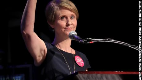 Cynthia Nixon to progressive candidates: 'Time is up for corporate Democrats'