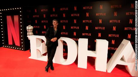 BUENOS AIRES, ARGENTINA - MARCH 07: Argentine actor Pablo Echarri poses during the Premiere of Netflix's Edha at Cinemark Puerto Madero on March 7, 2018 in Buenos Aires, Argentina.  (Photo by Marcelo Endelli/Getty Images)