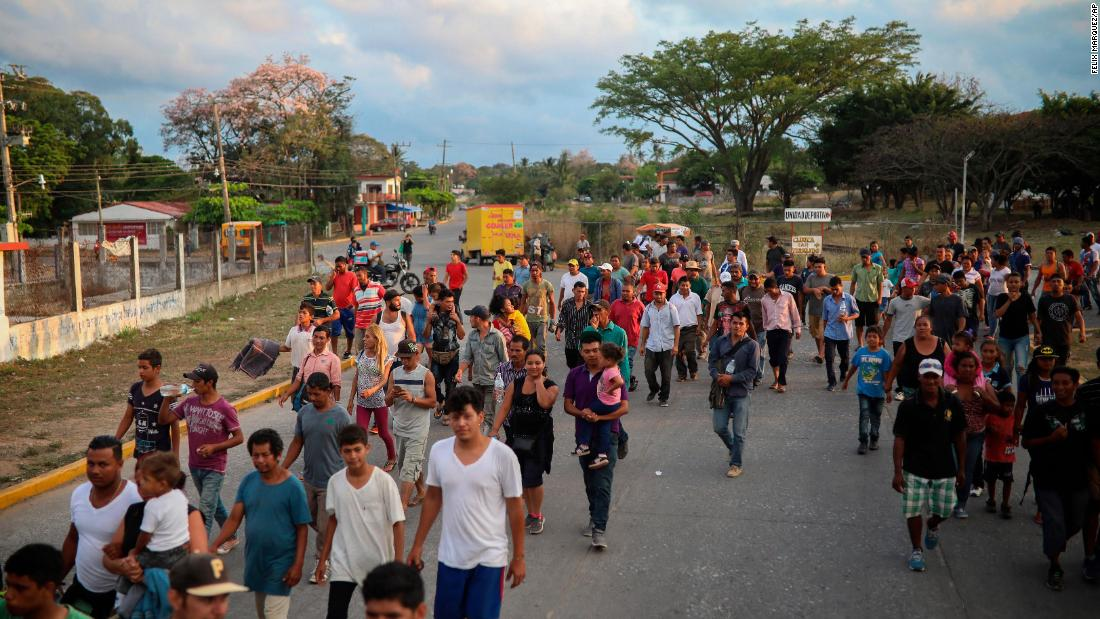 Caravan won't end in Mexico. Some migrants will risk trip to US border