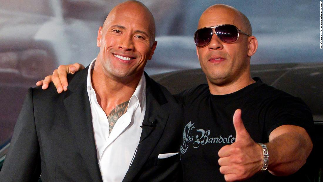 dwayne johnson shares vin diesel feud backstory cnn. Black Bedroom Furniture Sets. Home Design Ideas