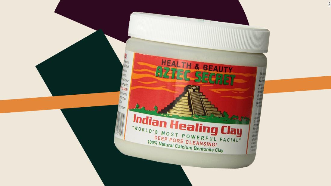 Aztec clay mask in stores