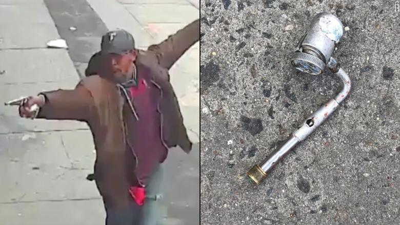 Black man brandishing pipe fatally shot by NYPD