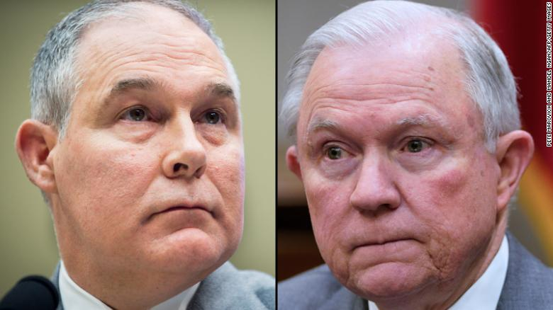 Trump considered replacing Sessions with Pruitt