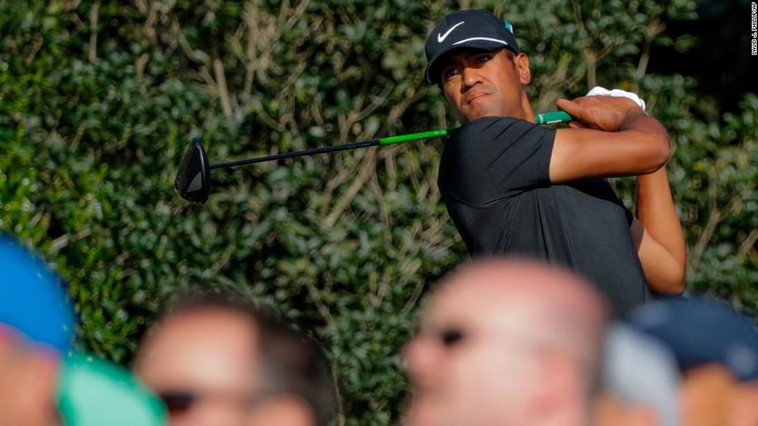Tony Finau shot a 4-under-par 68 on Thursday despite dislocating his ankle just a day before.