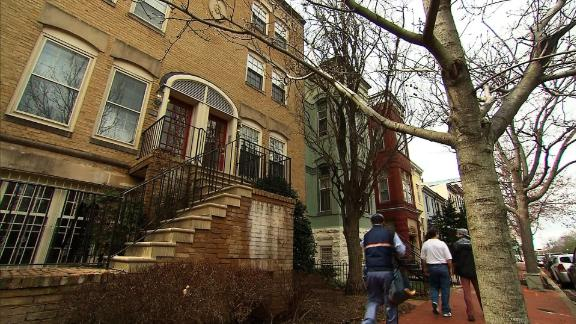 The Capitol Hill rowhouse in which Scott Pruitt rented a room.