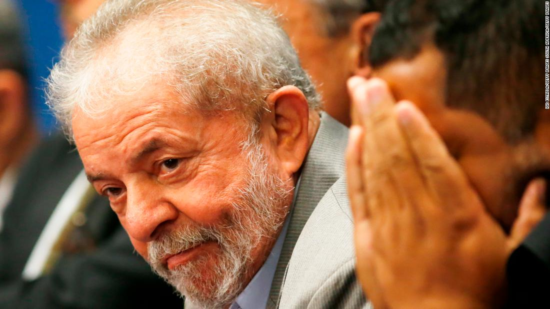Brazil's ex-president defies order to surrender to federal police