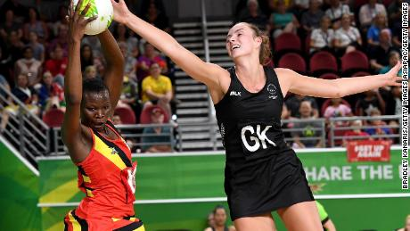 Uganda narrowly lost to New Zealand 64-51 on day of the Gold Coast Commonwealth Games.