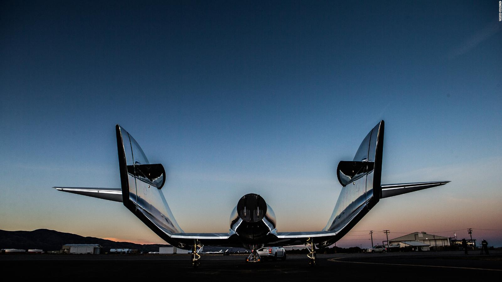 Virgin Galactic Tests Spaceship For Tourists