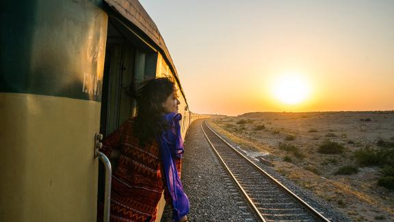 Sindh to Karachi by rail: Traveling with a friend, Reynolds spent two six-week stints -- in 2016 and 2017 -- traveling across Pakistan.