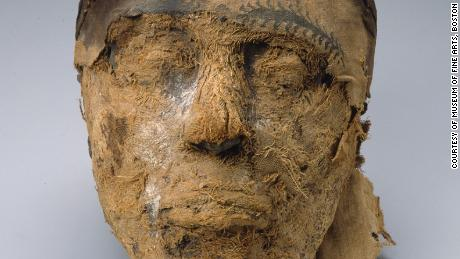 Head of the mummy Djehutynakht