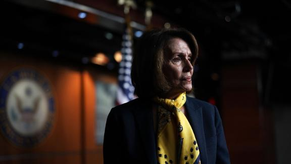 House Minority Leader Nancy Pelosi is the highest-ranking elected woman in US politics.