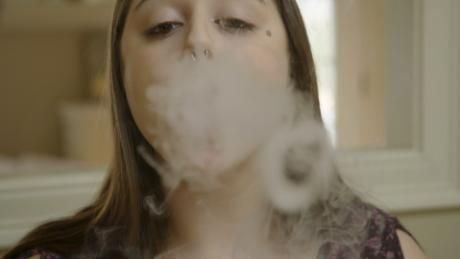 Teen vaping of marijuana is on the rise, survey finds