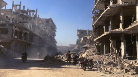 Dozens dead in possible gas attack in Syria; regime denies allegation