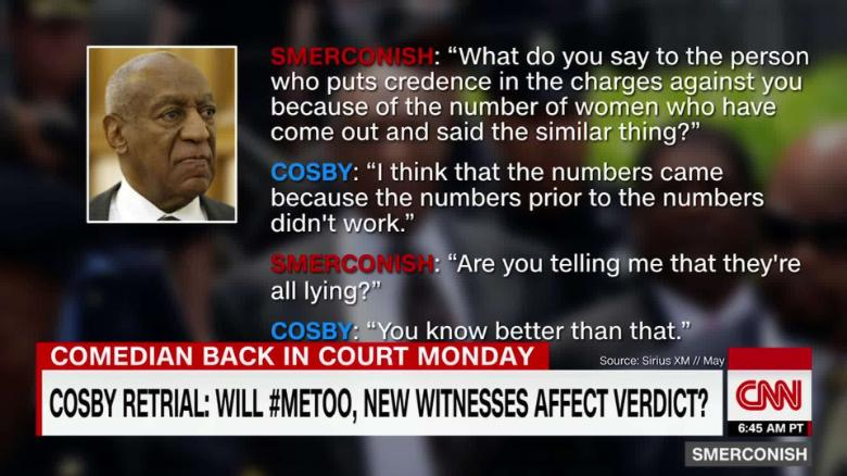 Cosby retrial: Will #metoo, new witnesses affect verdict? _00000000