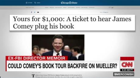 Could Comey's book tour backfire on Mueller? _00000000