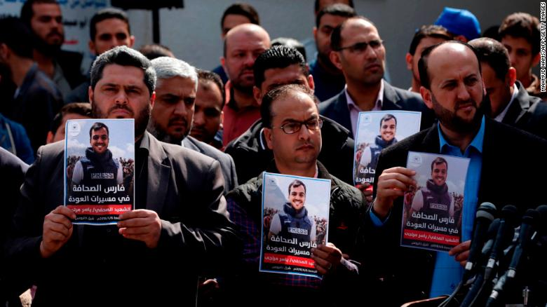 Journalist among 9 dead in Gaza clashes