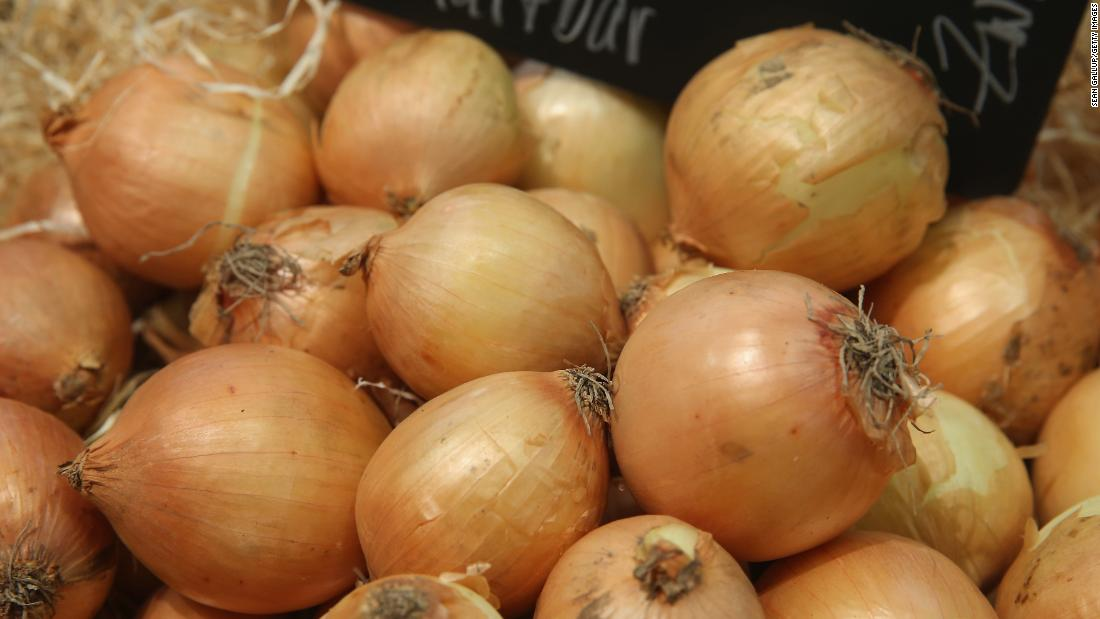 Fifth-placed onions contained three or fewer pesticides overall, while fewer than one in 10 contained any pesticides.