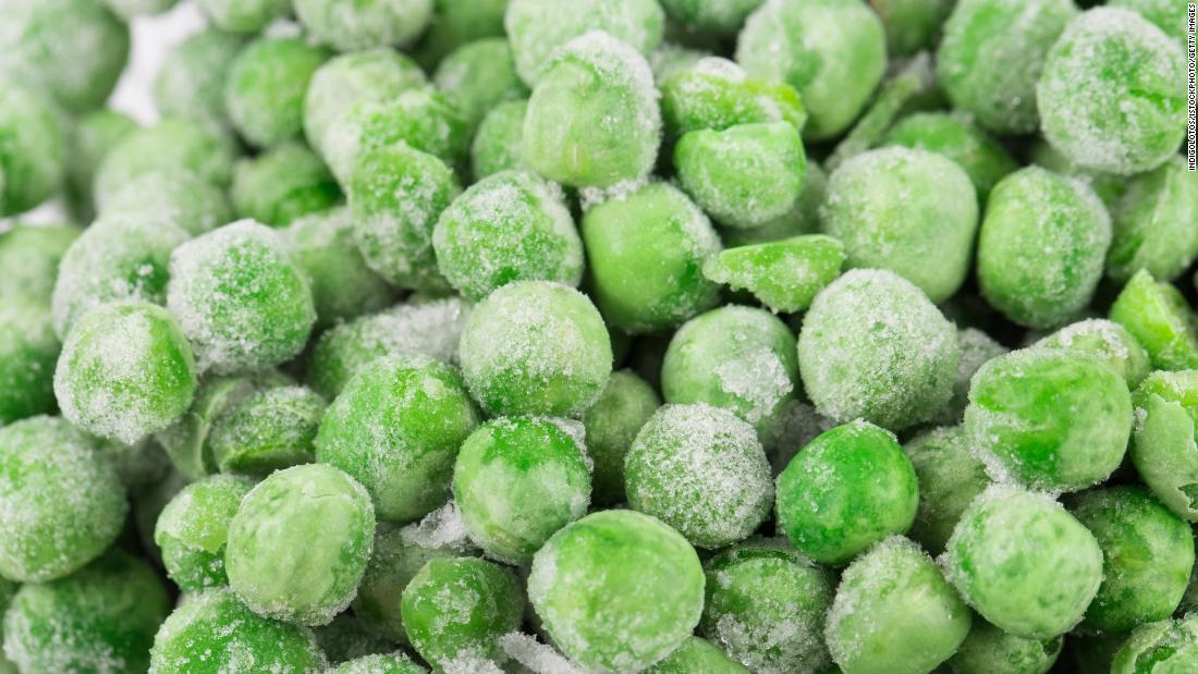 Frozen sweet peas jumped to fourth from sixth last year. The Dirty Dozen and Clean 15 are based off more than 40,900 fruit and vegetable samples tested by the US Food and Drug Administration and the US Department of Agriculture.