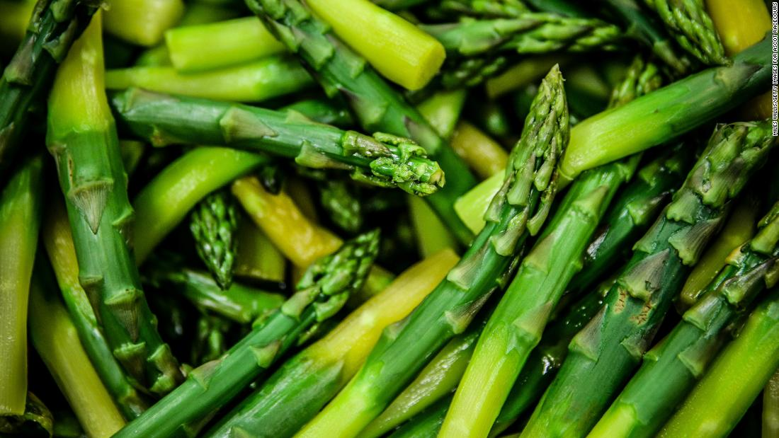 Asparagus samples mostly tested negative for pesticides: Ninety percent were clean, according to the group, and no more than three pesticides were found on any one sample of this vegetable. Asparagus ranks eighth among the cleanest produce.