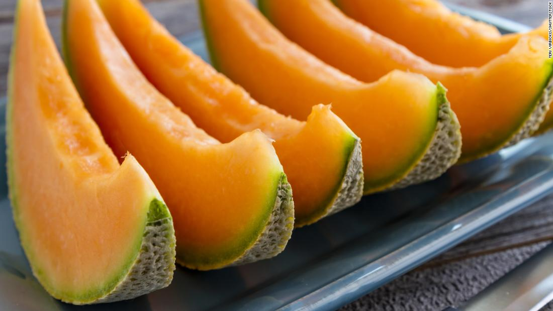 Cantaloupe ranked 12th on the Clean 15 list.