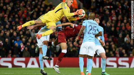 Brazilian goalkeeper Ederson has been a revelation for City this season.