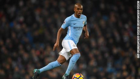 Fernandinho has acted as the lynchpin for the whole team to revolve around -- a pivotal cog in City's machine.
