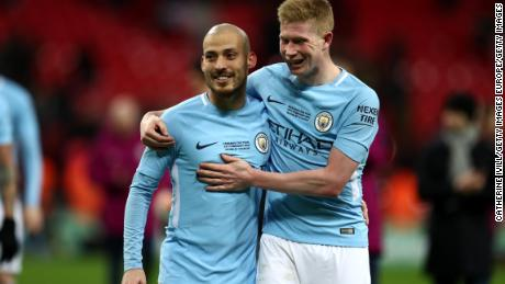 David Silva and Kevin De Bruyne have dominated teams this season with brilliant inventive football.