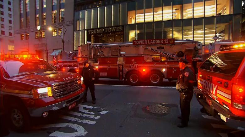 One person dead in fire at Trump Tower
