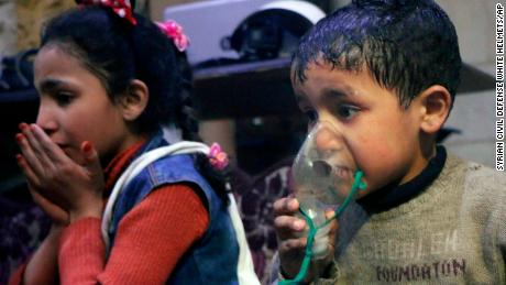 US allies warn of action on suspected Syria chemical attack