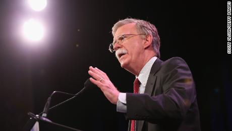 DES MOINES, IA - JANUARY 24:  Former Ambassador to the United Nations John Bolton speaks to guests  at the Iowa Freedom Summit on January 24, 2015 in Des Moines, Iowa. The summit is hosting a group of potential 2016 Republican presidential candidates to discuss core conservative principles ahead of the January 2016 Iowa Caucuses.  (Photo by Scott Olson/Getty Images)
