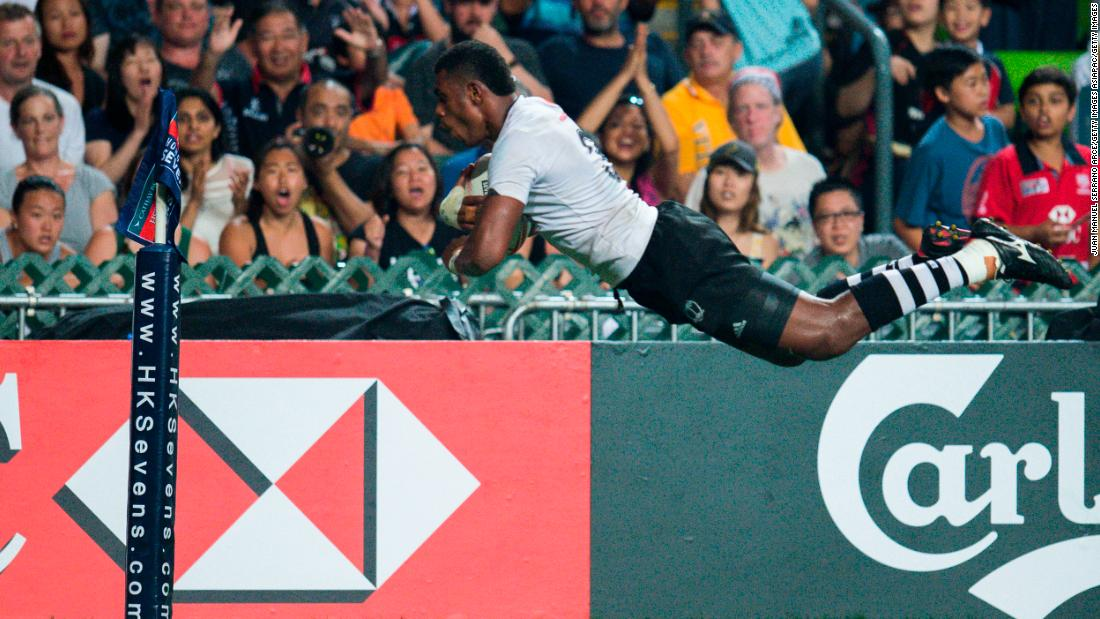 "Fiji made history in Hong Kong -- the <a href=""https://edition.cnn.com/2018/04/06/sport/hong-kong-rugby-hsbc-sevens-world-series-fiji-spt-intl/index.html"">most famous and best-loved leg</a> of the Sevens World Series -- by winning a fourth consecutive title, <a href=""https://edition.cnn.com/2018/04/08/sport/fiji-hong-kong-sevens-kenya-spt/index.html"">defeating Kenya 24-12</a> in the final."