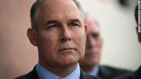 EPA's Pruitt unveils controversial limits to scientific research