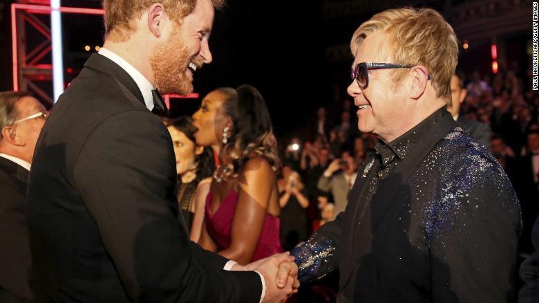 Elton John defends Meghan Markle and Prince Harry