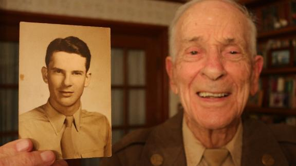 Raymond Sugg, 94, fought in Italy and France. He was wounded twice and got the Silver Star for bravery in combat.