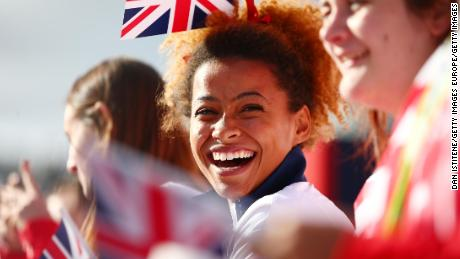 Jazmin Sawyers was a member of Team GB at the Rio Olympics in 2016, where she finished 8th
