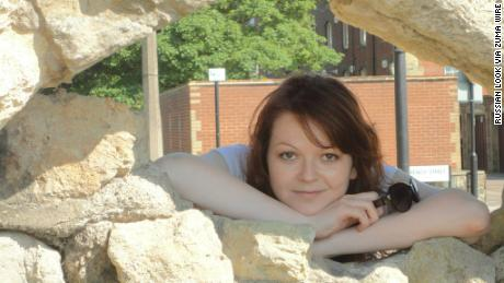An image taken from Facebook of Yulia Skripal, daughter of former Russian spy Sergei Skripal.