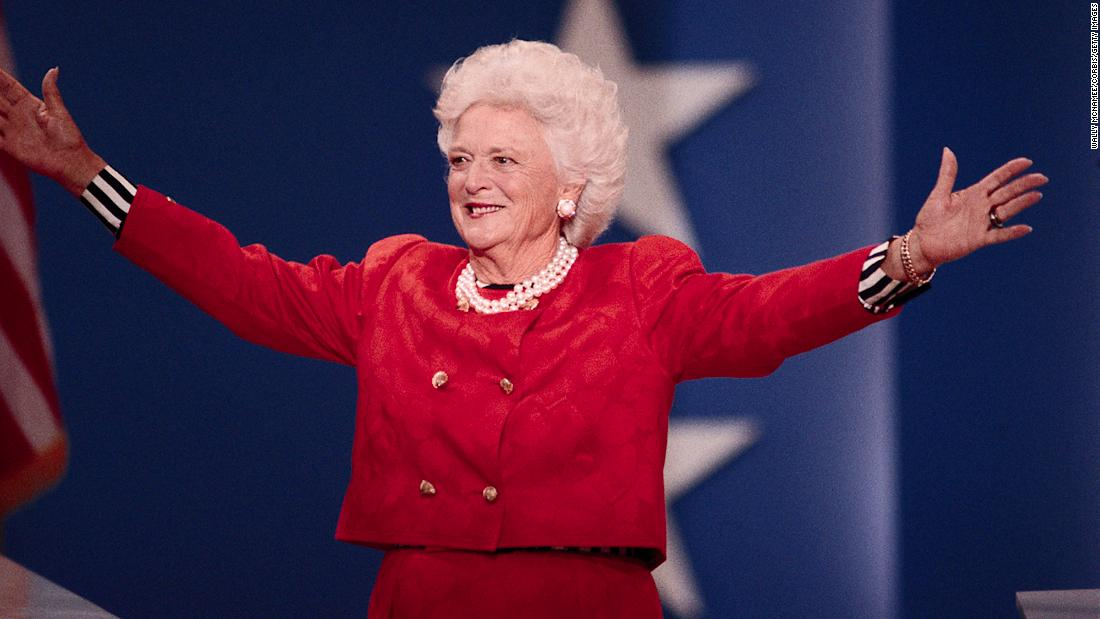Barbara Bush, Republican matriarch and former first lady, dies at 92 – Trending Stuff