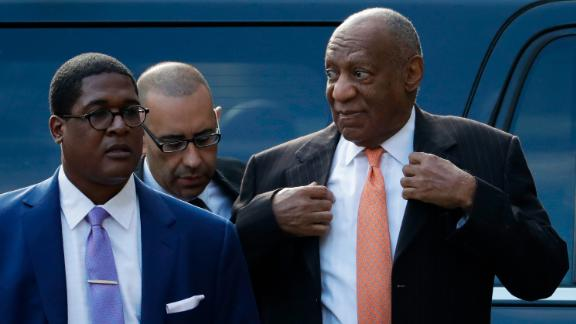 Bill Cosby arrives for his sexual assault trial, Tuesday, April 10, 2018, at the Montgomery County Courthouse in Norristown, Pa. (AP Photo/Matt Slocum)