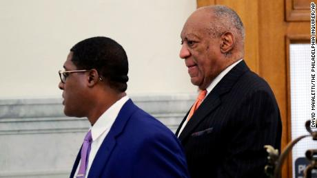 What happened at Bill Cosby's trial