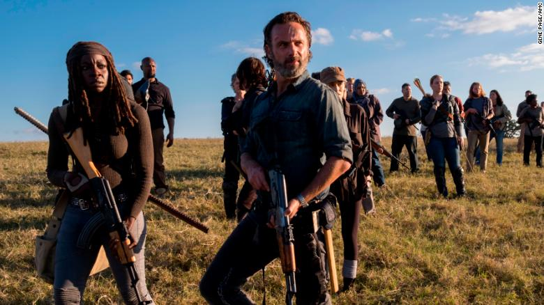 The walking dead season 8 finale review negan war comes to a danai gurira andrew lincoln in 39the walking dead39 voltagebd Gallery