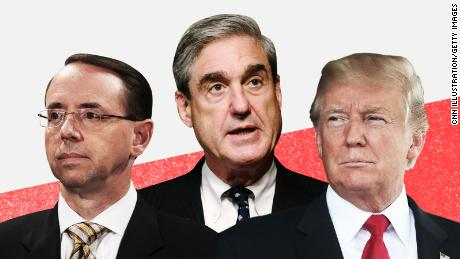 Trump considering firing Rosenstein to check Mueller