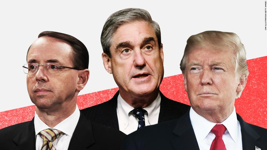 Trump 'certainly believes he has the power' to fire Mueller, White House says