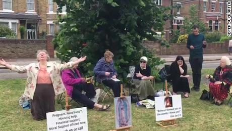 Anti-abortion protests banned outside London clinic